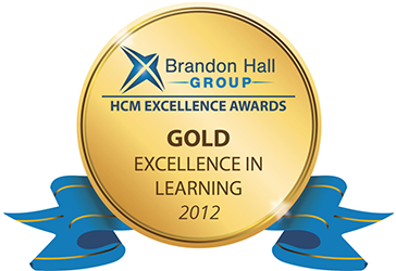 Gold Excellence Award for Best Custom Content for Learning