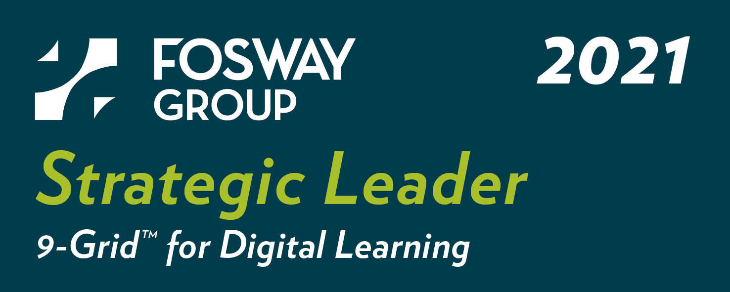 Leader on Fosway 9-Grid™ for Digital Learning 2021